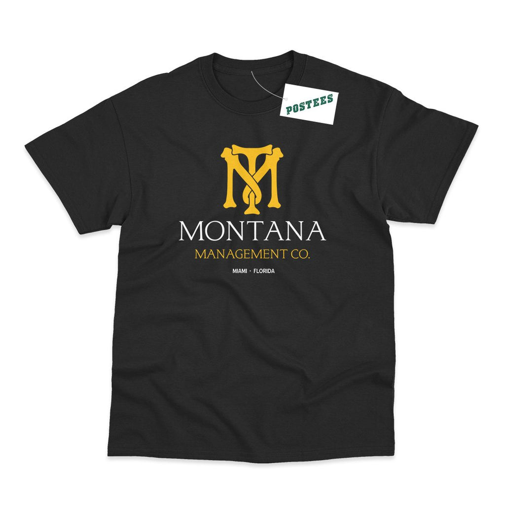 Scarface Inspired Tony Montana Management Co T-Shirt - Postees