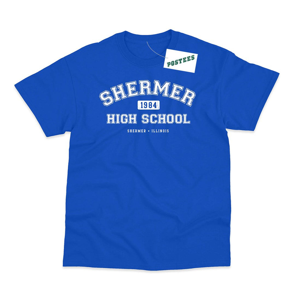 The Breakfast Club Inspired Shermer High School T-Shirt - Postees