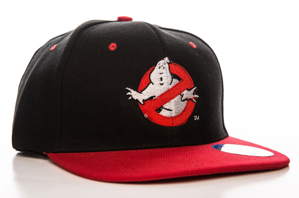 Official Ghostbusters No Ghost Logo Snapback Cap