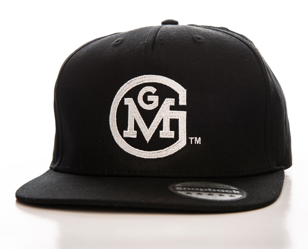 Official Gas Monkey Garage Logo Black Snapback Cap - Postees