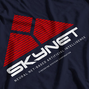 Terminator Inspired Skynet AI T-Shirt - Postees