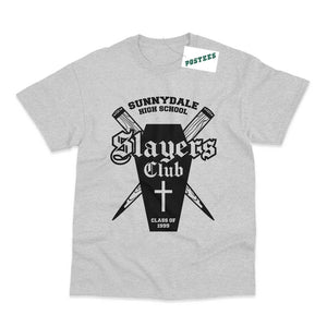 Buffy The Vampire Slayer Inspired Slayers Club T-Shirt - Postees