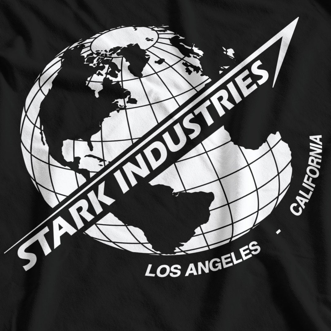 Iron Man Inspired Stark Industries T-Shirt - Postees