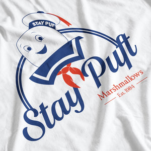 Ghostbusters Inspired Stay Puft Marshmallows T-Shirt - Postees