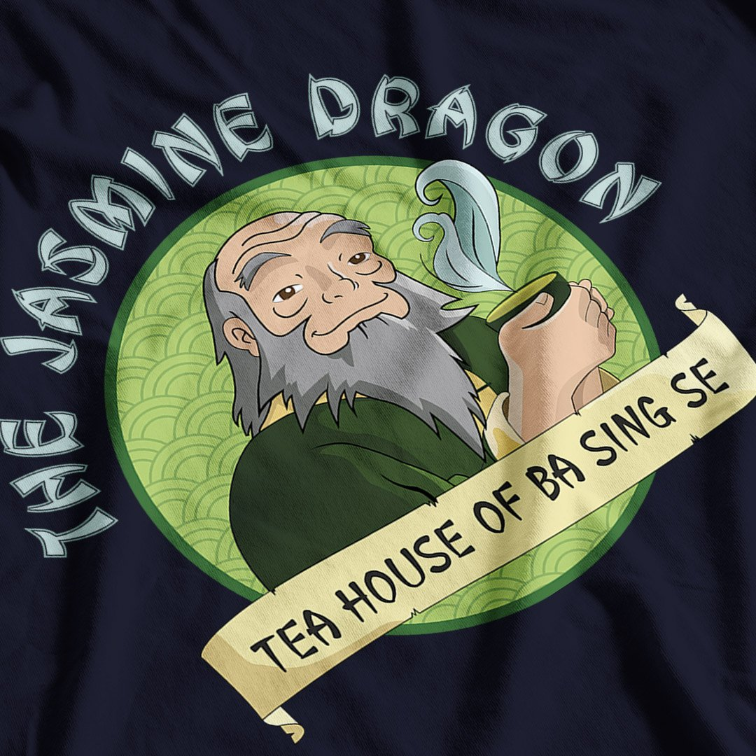 Avatar The Last Airbender inspired The Jasmine Dragon Tea House T-Shirt - Postees