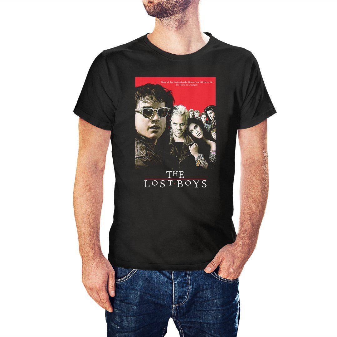 The Lost Boys Movie Poster Inspired T-Shirt - Postees
