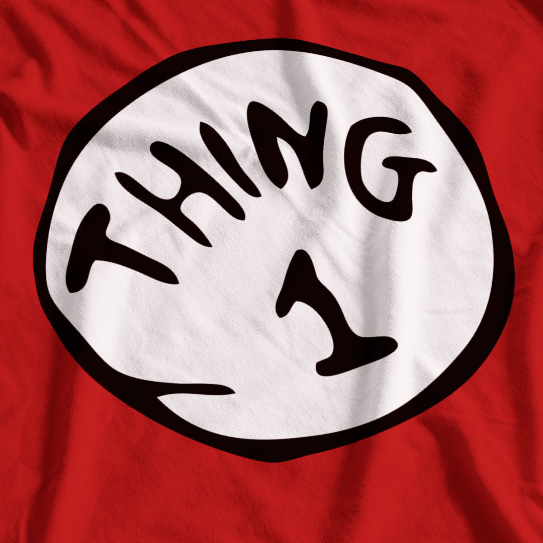Thing 1 Adult Book Day T-Shirt