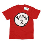 Thing 2 Adult Book Day T-Shirt