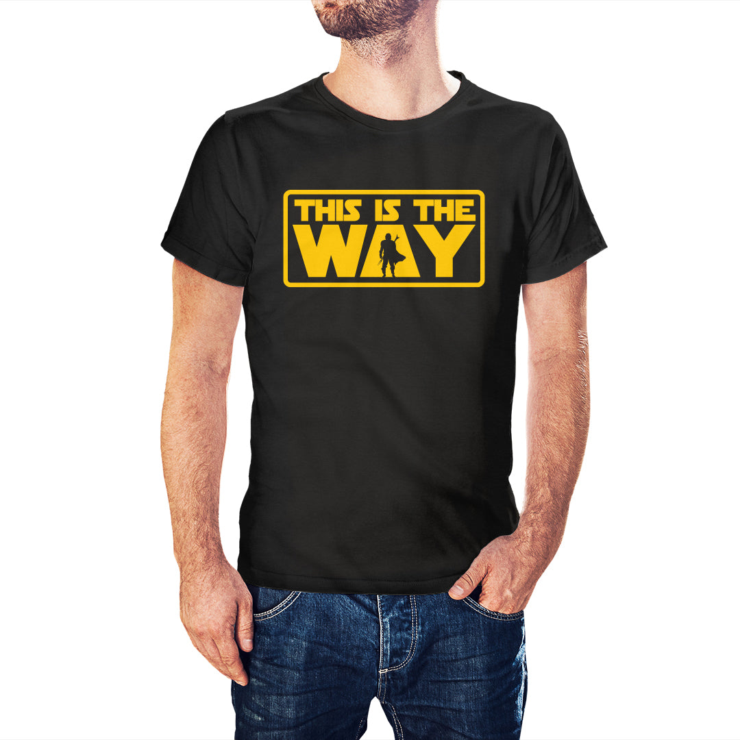 The Mandalorian Inspired This Is The Way T-Shirt - Postees