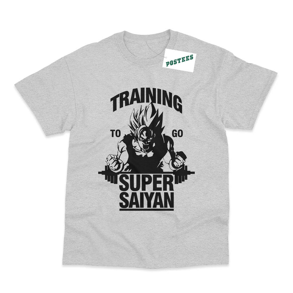 Dragon Ball Inspired Training To Go Super Saiyan T-Shirt