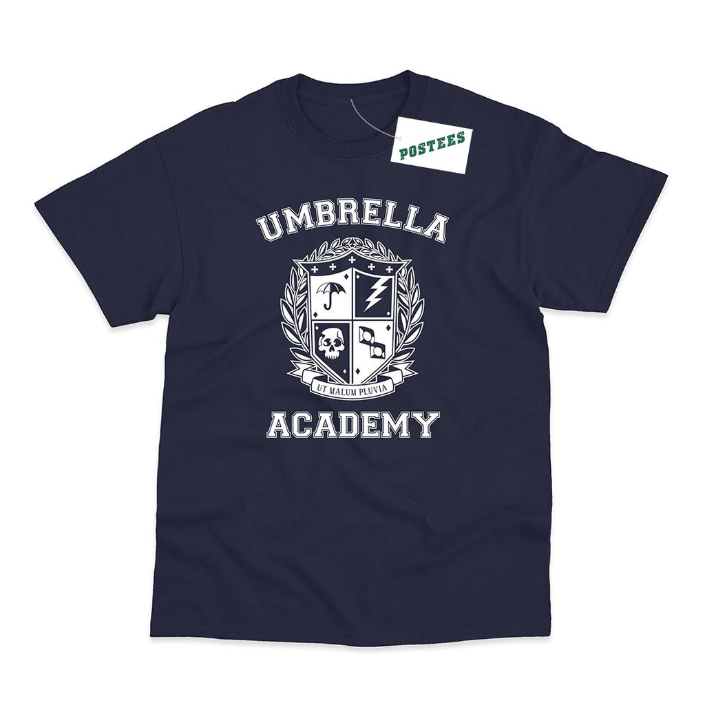 The Umbrella Academy Inspired School Emblem T-Shirt - Postees