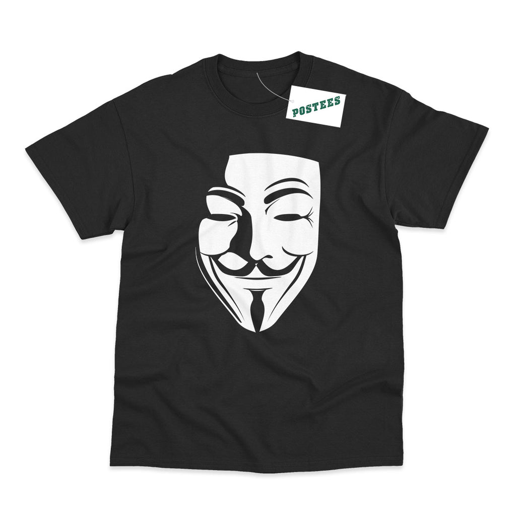 V For Vendetta Inspired Vendetta Mask T-Shirt
