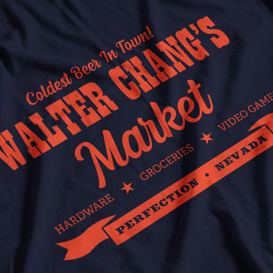Tremors Inspired Walter Chang's Market T-Shirt