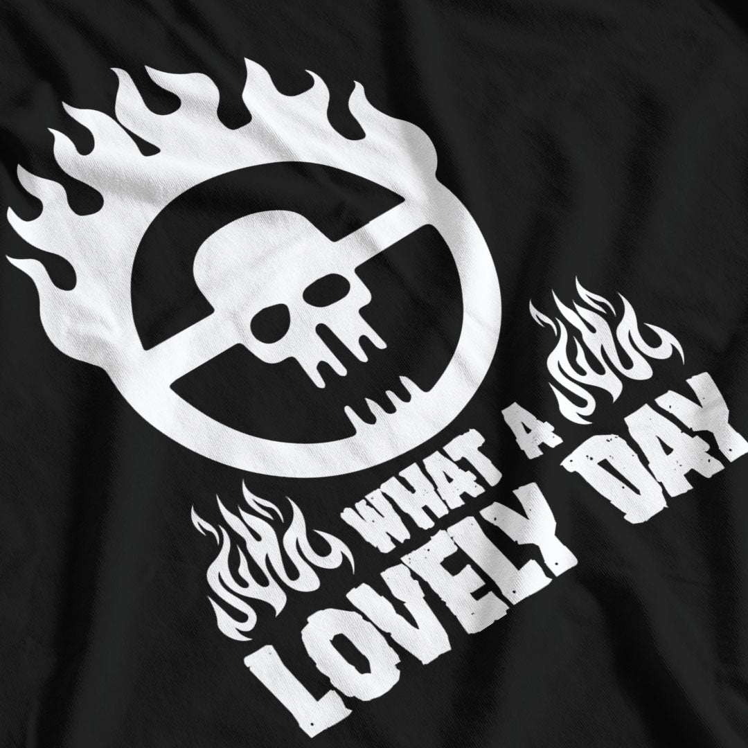 Mad Max Inspired What A Lovely Day T-Shirt - Postees