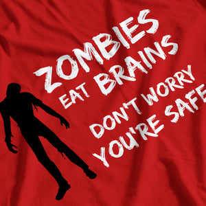 Zombies Eat Brains Funny T-Shirt