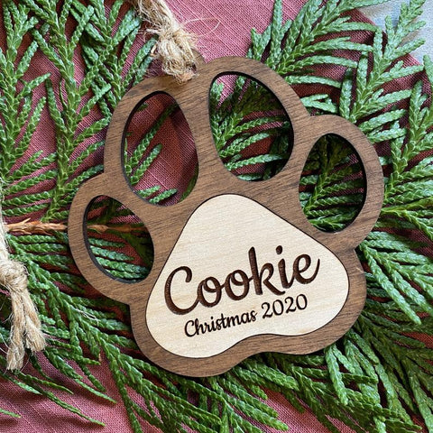 Engraved Pet Ornament