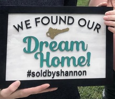 Dream Home Sign