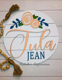 """Tula"" Personalized Round"