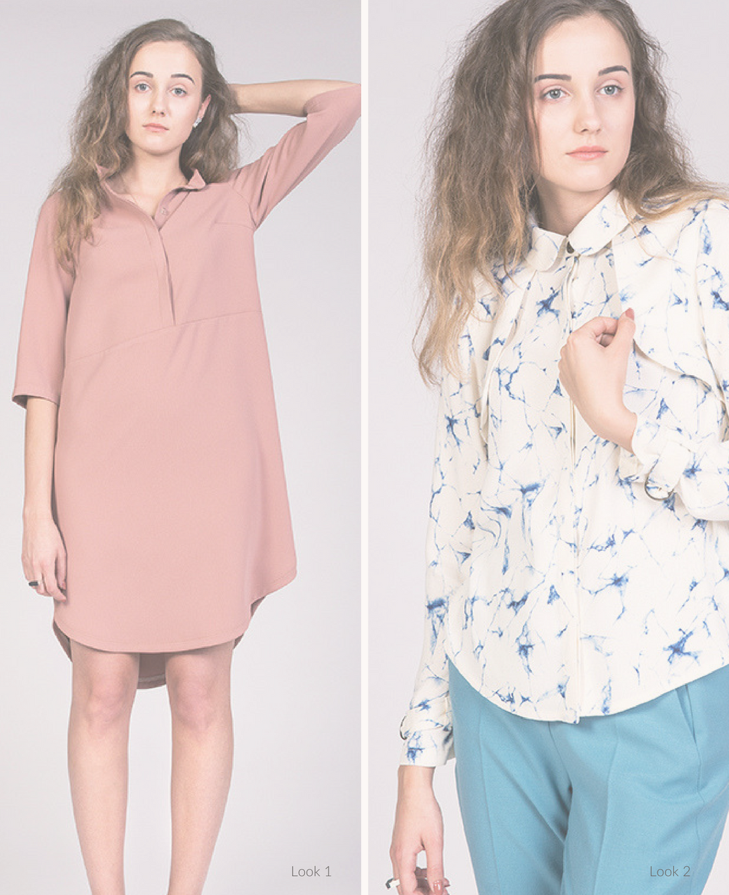 Helmi Blouse & Tunic Dress | Pattern