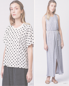Anneli Double Layer Dress & Tee | Pattern