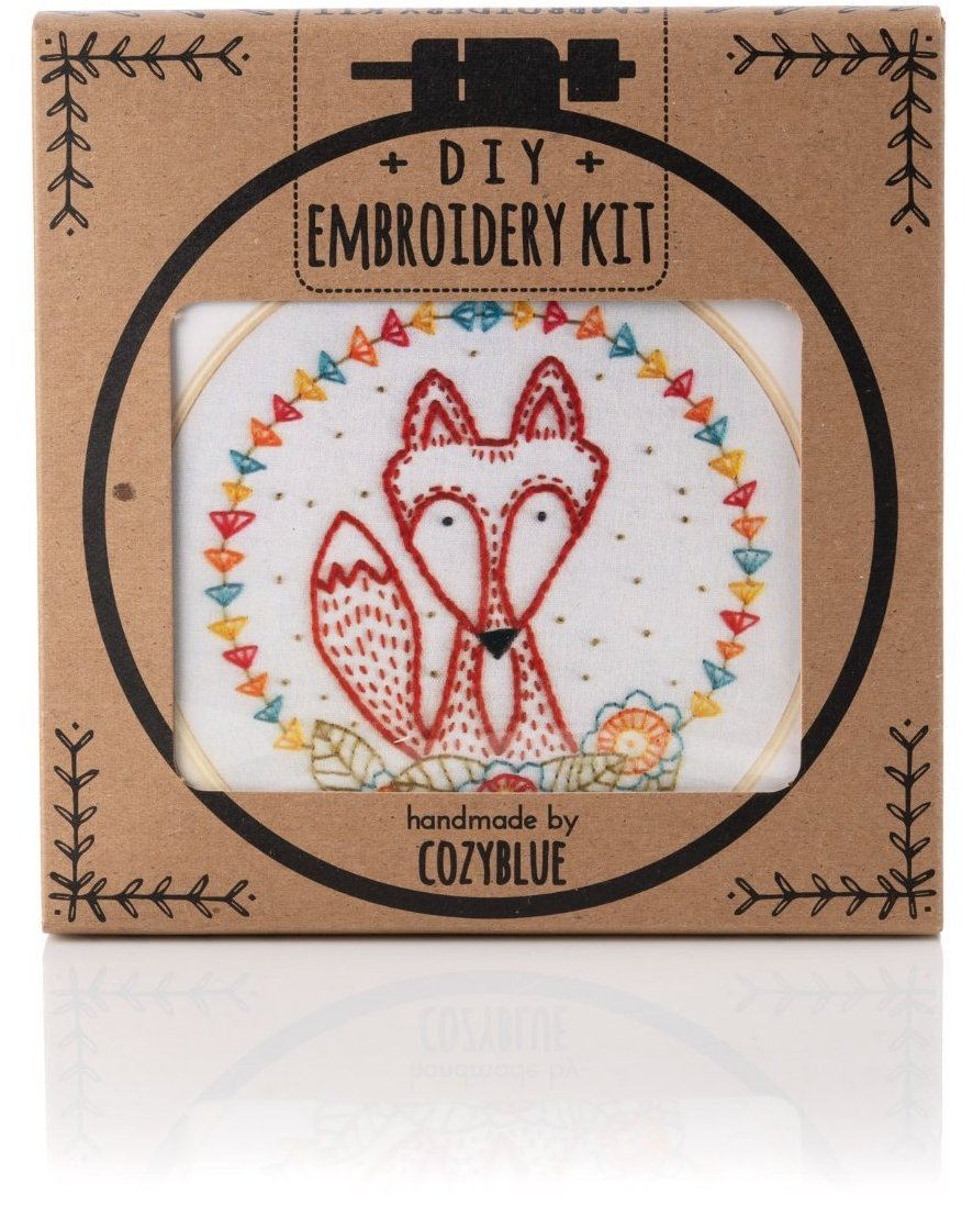 Crafty Fox Embroidery Kit