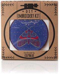 Midnight Flight Embroidery Kit