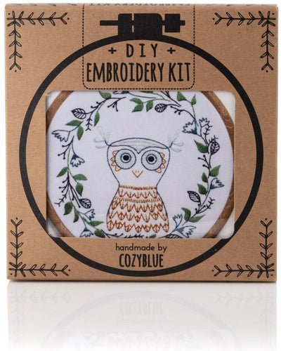 Owlette Embroidery Kit