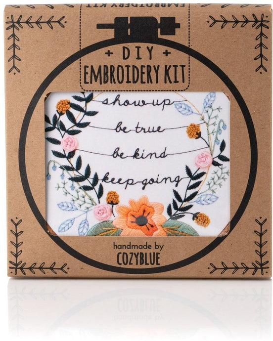 Show up Embroidery Kit