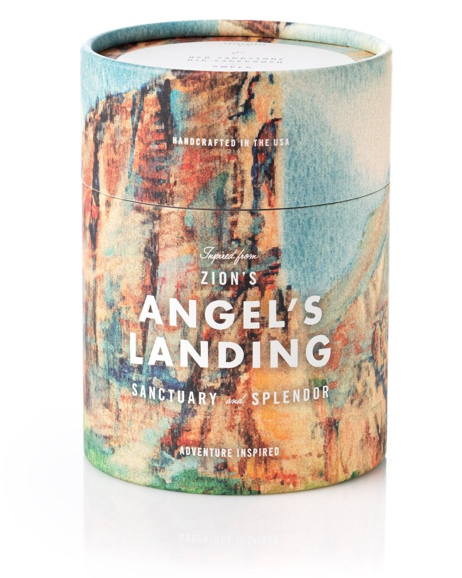 Zion's Angels Landing Candle