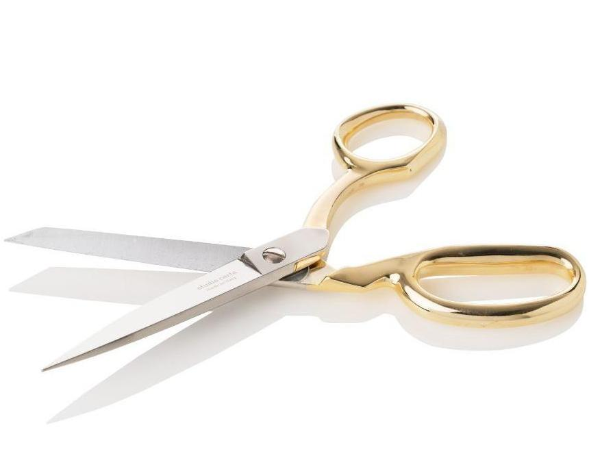 Dress Maker Shears Gold Handle