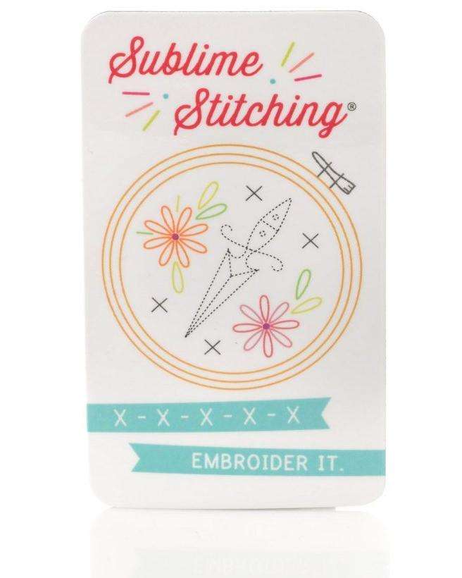 Hand Embroidery Needle Pack & Magnet
