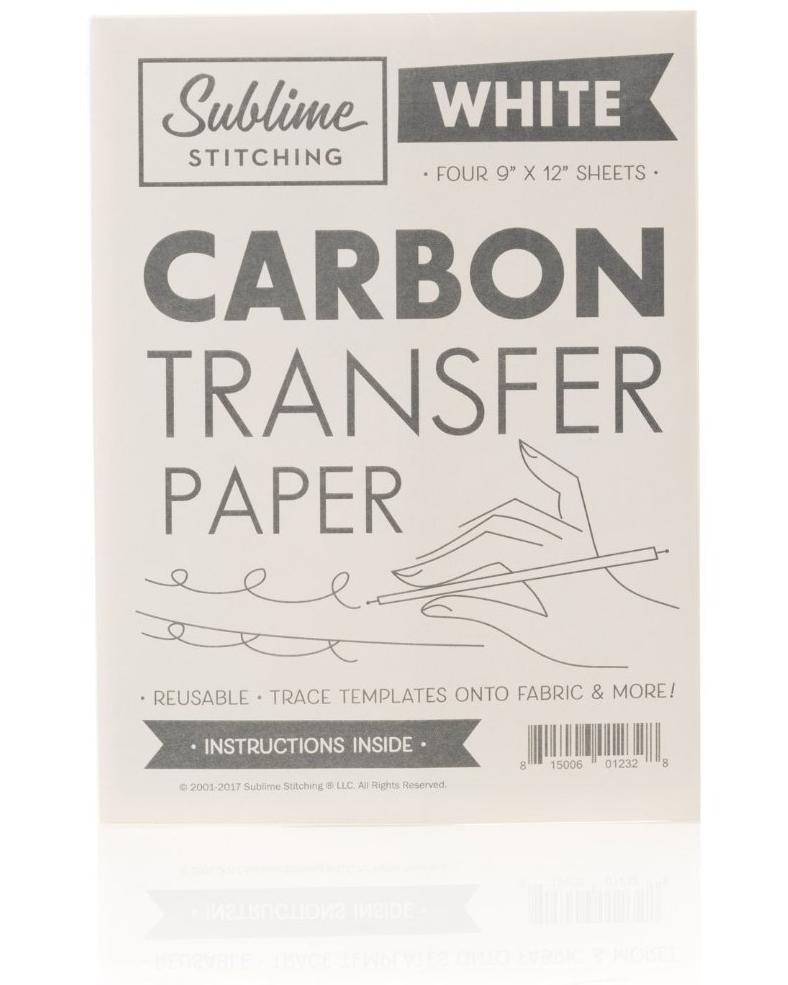 Carbon Transfer Paper - White Only