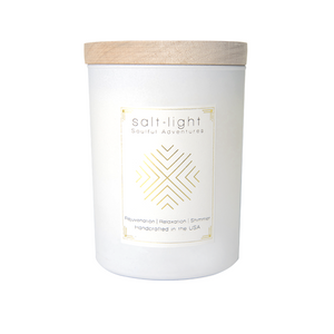 Salt + Light Candle