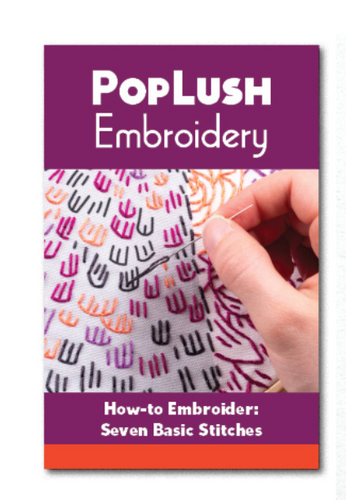 How-to Embroider: 7 Basic Stitches Booklet