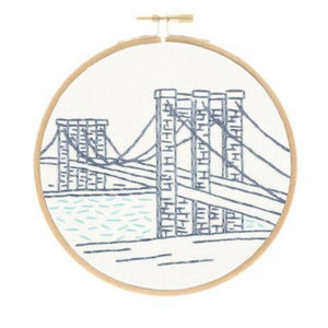 Brooklyn Bridge Embroidery Kit