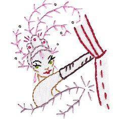 Viva Las Vegas - Embroidery Patterns