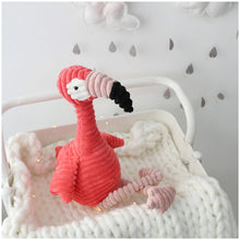 Load image into Gallery viewer, Flamingo soft toy for kids