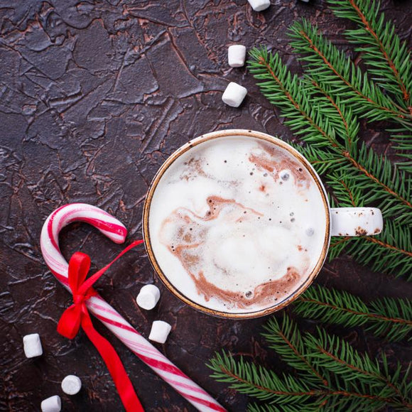 Holiday Flavour Candy Cane Mocha
