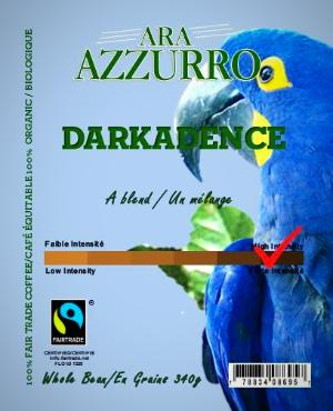 Darkadence, Fairtrade Certified, Organic Certified (FTO Coffee)