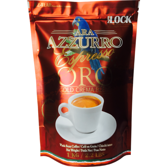OUT OF STOCK FOR A SHORT TIME- Oro Gold Espresso Beans LIMITED TIME SALE $15.99 for 1KG
