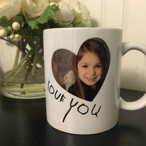 MommyMade | Photo/Handwriting Mug