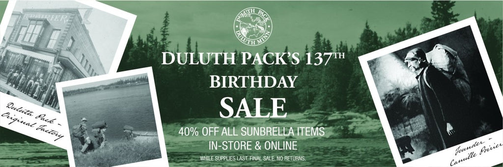 Happy Birthday, Duluth Pack! | Duluth Pack