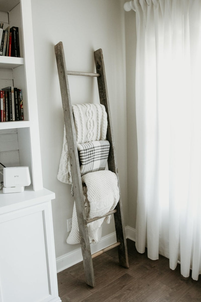 How to Make Your Own Wood Blanket Ladder | Duluth Pack