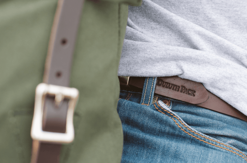 Made in the USA Quality Leather Belts | Duluth Pack