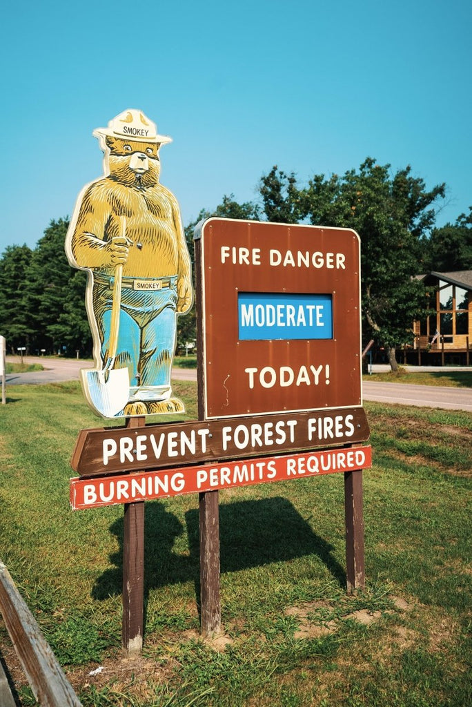 The History of Smokey The Bear | Duluth Pack