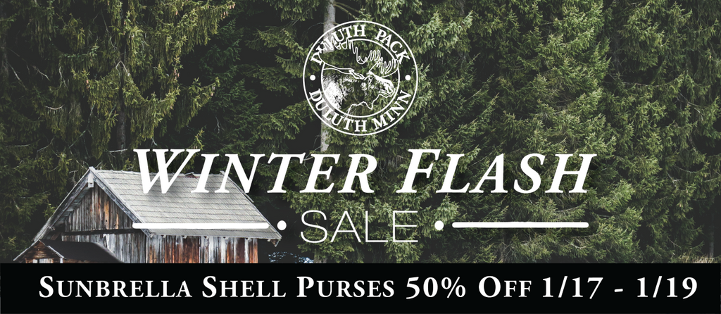 Image Link Winter Flash Sale Sunbrella Shell Purses 50% Off January 17th to January 19th 2020