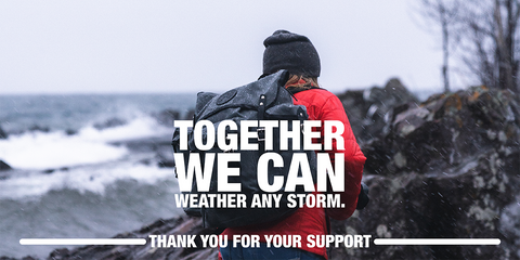 Image Text: Together We Can Weather Any Storm