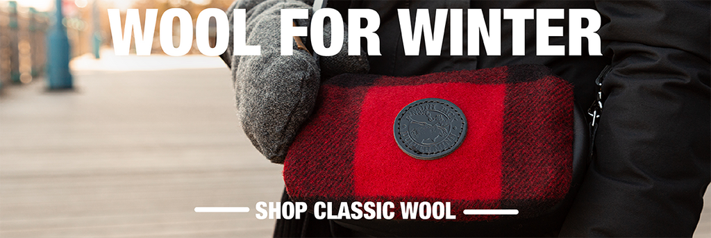 Image Title: Wool For Winter. Image Sub Title: Shop Classic Wool.