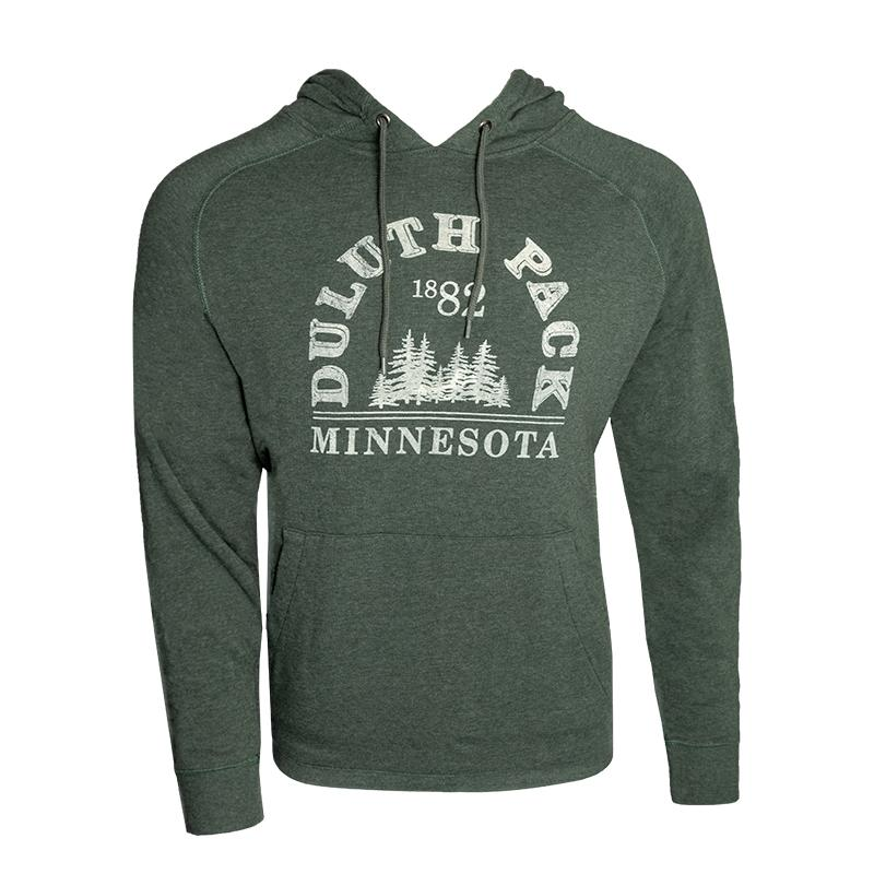1882 Trees Hoodie Apparel Small - Duluth Pack Apparel