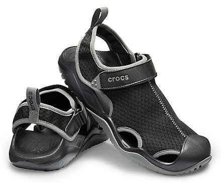 Men's Swiftwater™ Mesh Deck Sandal Crocs Shoes  - Crocs